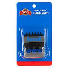 Grreat Choice® 3 Way Gang Valve