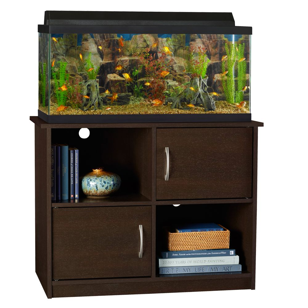 Give your fish a fresh, new home. PetSmart offers a wide range of discount aquariums and fish tanks (on sale for a limited time) that make it easy to upgrade their space – and yours. From tabletop starter kits to gallon tanks for experienced aquarists, you'll find everything they need to make your home theirs.