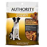 Authority Chewy Dog Treat Grain Free Chicken Jerky