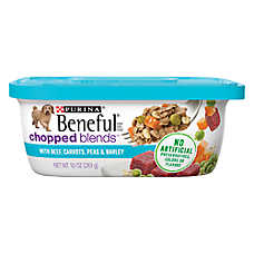 Purina® Beneful® Chopped Blends Dog Food - Beef, Carrots, Peas & Barley