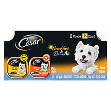 Cesar® Breakfast & Dinner Dog Food