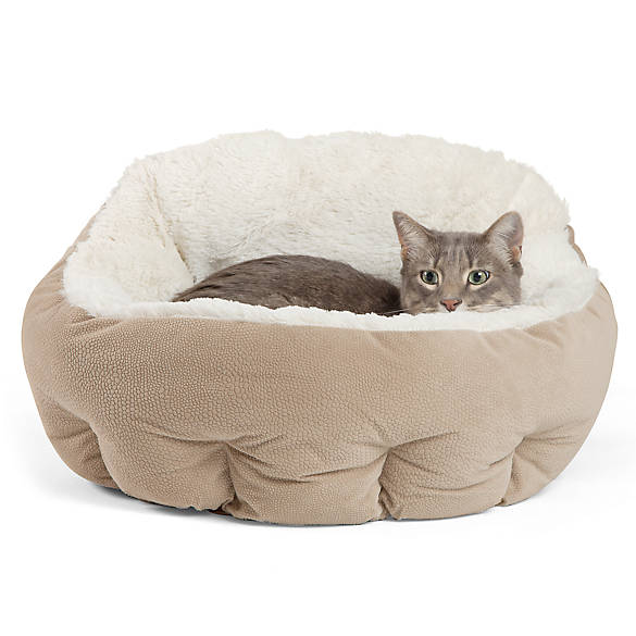"Best Friends By Sheri Deep Dish Cuddler ""Illan"" Pet Bed by Best Friends By Sheri"