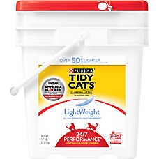 Purina® TIDY CATS® LightWeight 24/7 Performance Cat Litter - Clumping, Multi Cat