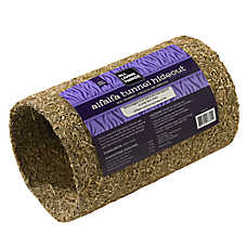 All Living Things® Alfalfa-Covered Tunnel Hideout Small Animal Furniture