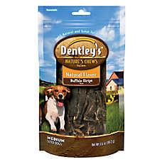 Dentley's™ Nature's Chew Buffalo Strip Dog Treat