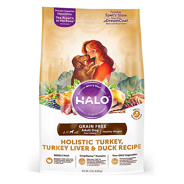 Halo Dreamcoat Healthy Weight Adult Dog Food Natural Grain Free