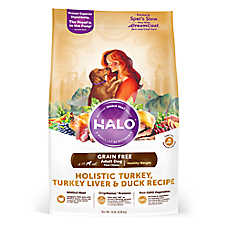 HALO® DreamCoat Healthy Weight Adult Dog Food - Natural, Grain Free, Holistic Turkey, Liver & Duck