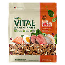 Freshpet® Vital™ Grain Free Complete Meals Chicken, Beef, Salmon & Egg Adult Dog Food