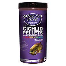 Omega™ One Cichilid Super Color Pellets Fish Food