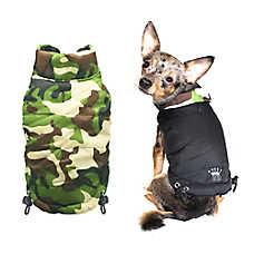 Hip Doggie Reversible Puffer Vest