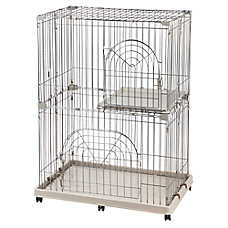 IRIS 2-Tier Wire Cat Playpen