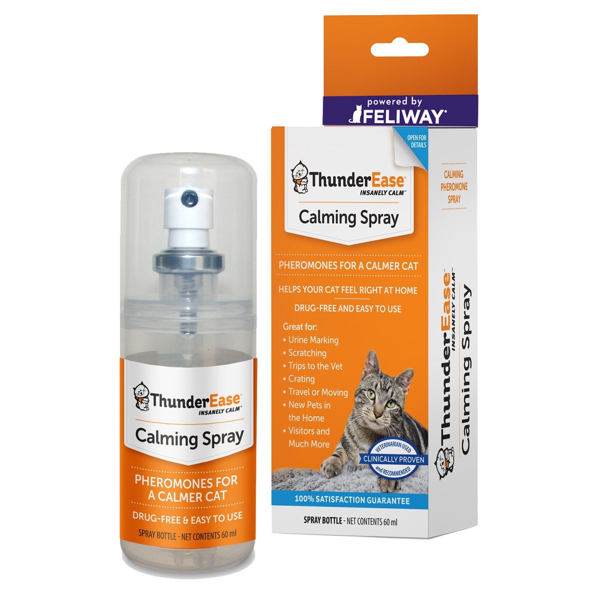 Thunderspray Insanely Calm Trade Pheromone Calming Cat Spray Cat Repellants Petsmart