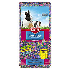 KAYTEE® Clean & Cozy™ Birthday Cake Small Pet Bedding