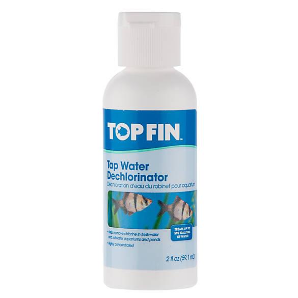 Top fin tap water dechlorinator fish water care for Dechlorinator for fish
