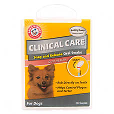 ARM & HAMMER™ Clinical Pet Care Swab Dog Tooth Treatment
