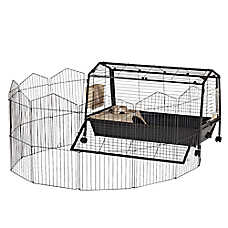 Oxbow Rabbit Habitat with Play Yard