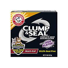 ARM & HAMMER™Clump & Seal Cat Litter - Clumping, Multi-Cat
