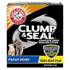 ARM & HAMMER™  Clump & Seal Fresh Home Scented Cat Litter