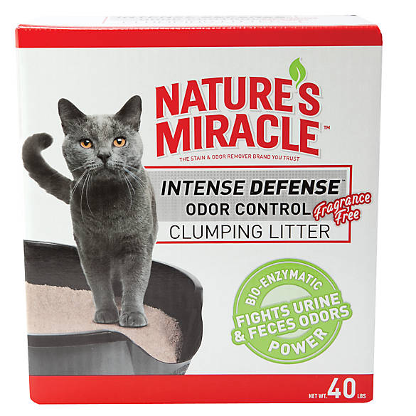Nature S Miracle Cat Litter Unscented