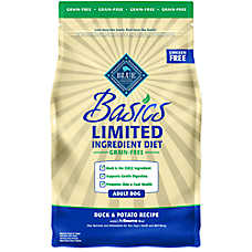 BLUE Basics® Limited Ingredient Grain Free Adult Dog Food - Duck & Potato