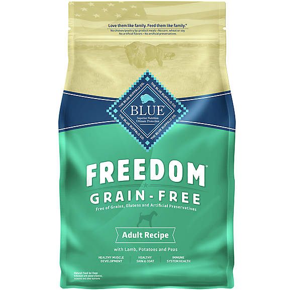 Blue Freedom Grain Free Dog Food Petsmart