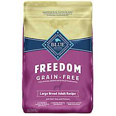BLUE Freedom® Grain Free Large-Breed Adult Dog Food - Beef