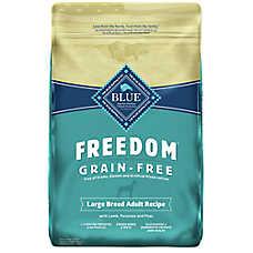 BLUE Freedom® Grain Free Large-Breed Adult Dog Food - Lamb