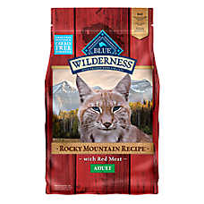 BLUE Wilderness® Rocky Mountain Recipe™ Grain Free Adult Cat Food - Red Meat