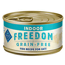 BLUE Freedom® Grain Free Fish Indoor Adult Cat Food