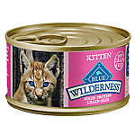 BLUE Wilderness® Kitten Food - Natural, Grain Free, Salmon