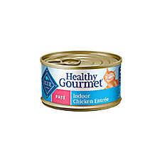 BLUE Healthy Gourmet® Adult Cat Food - Indoor Chicken Entree, Pate