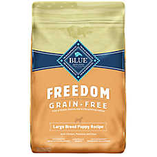BLUE Freedom® Grain Free Chicken Large Breed Puppy Food