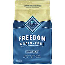 BLUE Freedom® Senior Dog Food - Grain Free, Gluten Free, Chicken
