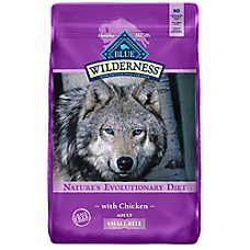 BLUE Wilderness® Small Bites Adult Dog Food - Grain Free, Chicken