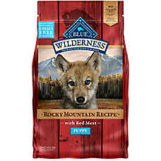 BLUE Wilderness® Rocky Mountain Recipe™ Grain Free Puppy Food