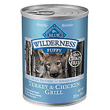 BLUE Wilderness® Puppy Food - Grain Free, Turkey & Chicken