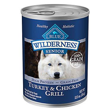 Blue Buffalo Senior Dog Chicken Grain Free Site Petsmart Com