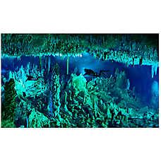 National Geographic™ 3-D Lenticular Cave Aquarium Background