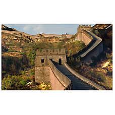 National Geographic™ 3-D Lenticular Great Well Aquarium Background