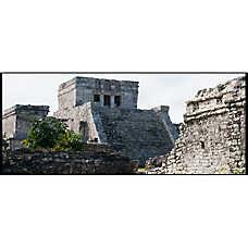 National Geographic™ 3-D Lenticular Maya Ruin Aquarium Background