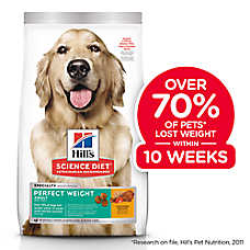 Hills® Science Diet® Perfect Weight Adult Dog Food - Chicken