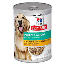 Hills® Science Diet® Perfect Weight Adult Dog Food - Chicken & Vegetables