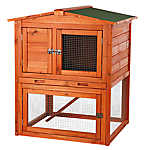 TRIXIE Pet Products Peaked Roof Rabbit Hutch
