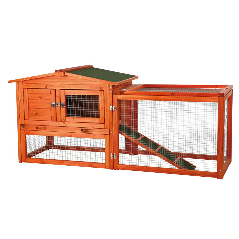 TRIXIE Pet Products Outdoor Run Rabbit Hutch   small pet Hutches ...