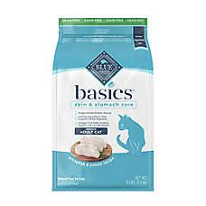 BLUE Basics® Limited Ingredient Grain Free Indoor Adult Cat Food - Fish & Potato