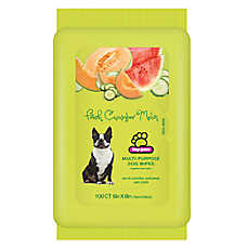 Top Paw® Fresh Cucumber Melon Multi-Purpose Dog Wipe