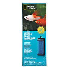 National Geographic™ Coarse Form Aquarium Filter Cartridge