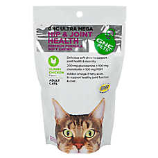 GNC Pets® Ultra Mega Hip & Joint Health Cat Soft Chews
