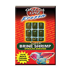 Omega™ One Frozen Super Canivore Fish Food
