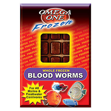 Omega™One Frozen Bloodworms